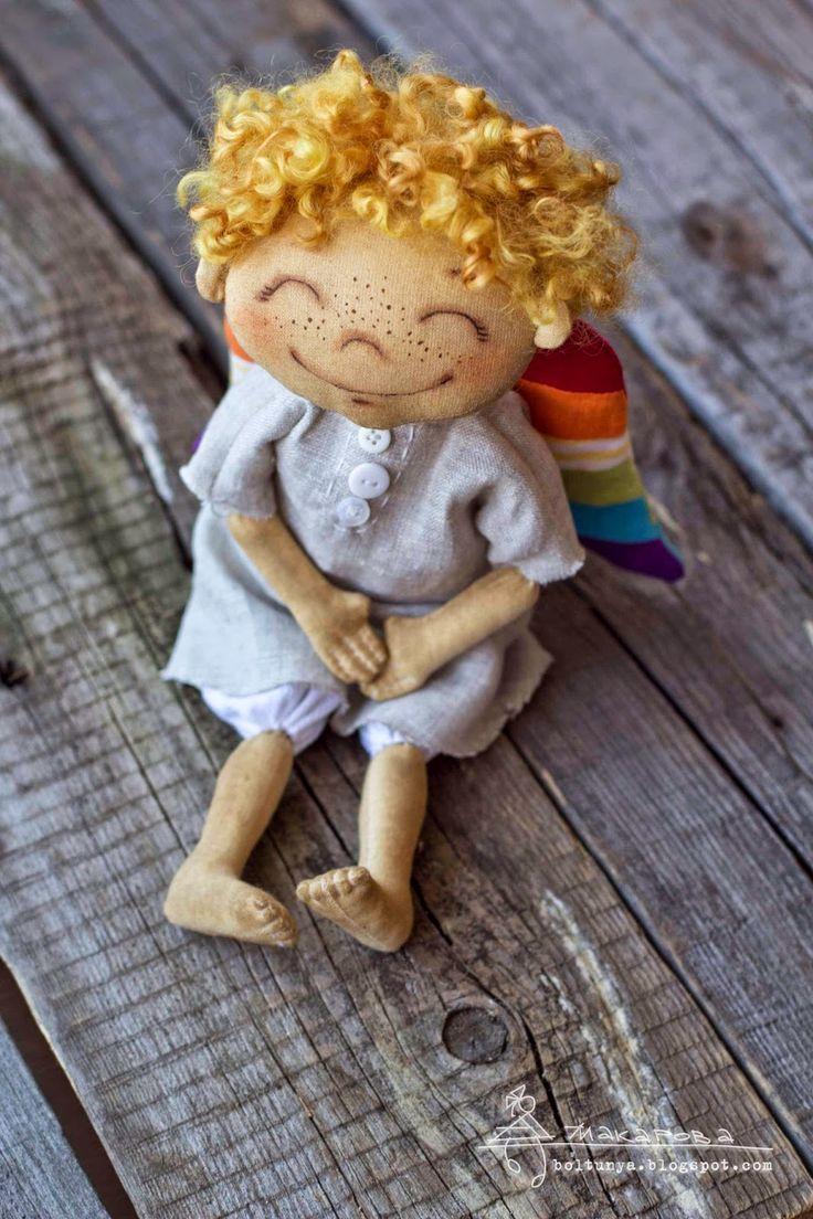 Болтунья: Ангел с радуги