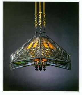 Frank Lloyd Wright Hanging Lamp