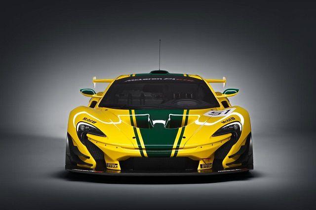 McLaren P1 Top Gear 2015 Front View