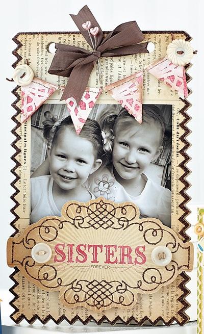 Sisters Frame by @Betsy Veldman