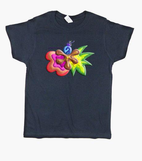 Camiseta de niño Explosión de Color - Kid t-shirt Color Explosion - #Shop #Gift #Tienda #Regalos #Diseño #Design #LaMagiaDeUnSentimiento #MaderaYManchas #Kid #children #boy #girl #baby #tshirt #Cool #colors #cute