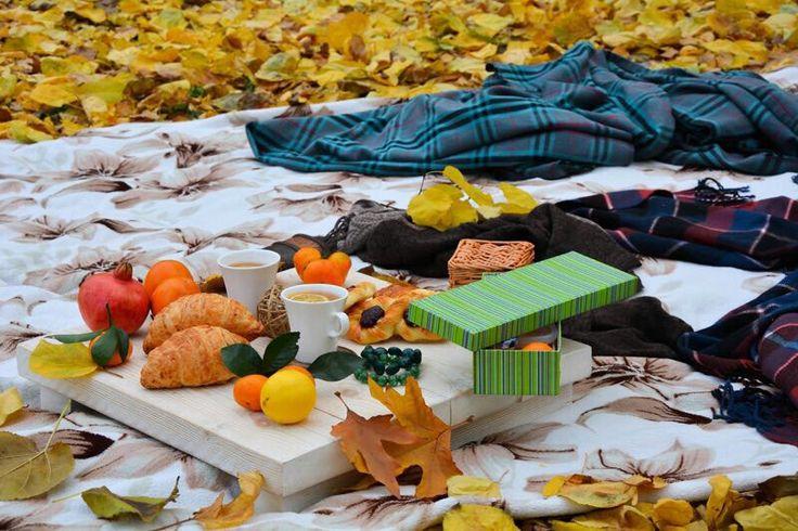 Осенний пикник для двоих