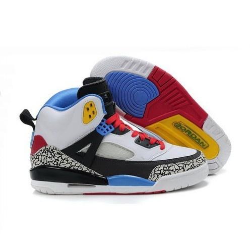 Nike Air Jordan Spizike 3.5 New Version Men White/Black-Red-Yellow Shoes