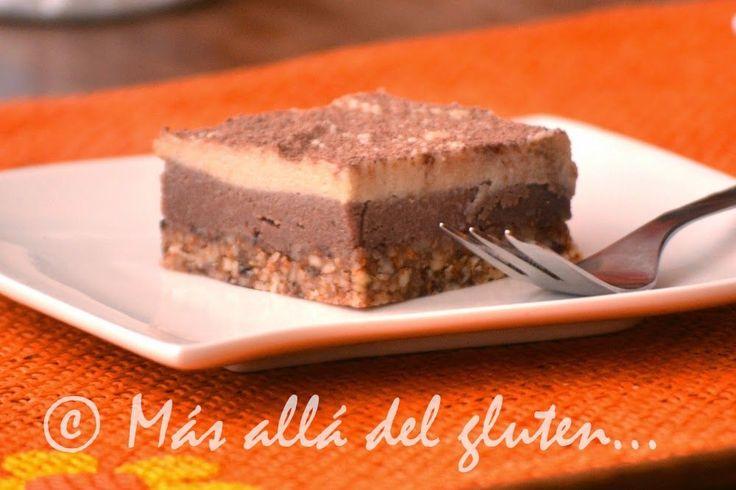 Más allá del gluten...: Cuadritos con Café (Receta GFCFSF, Vegana, RAW)