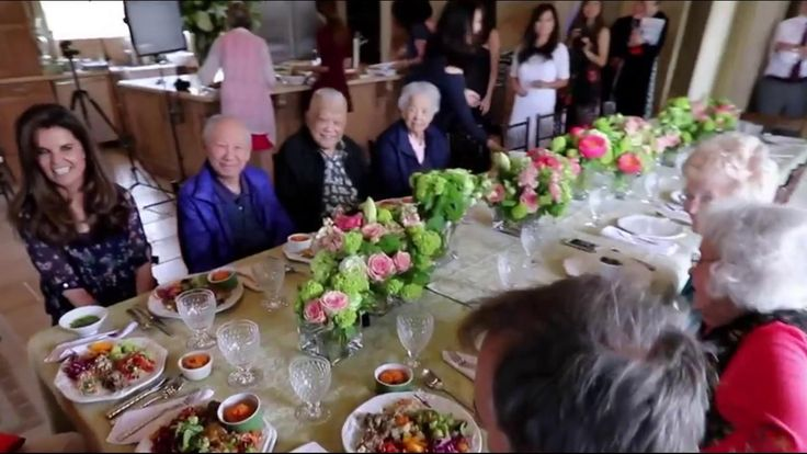 """Continuing """"Eating to 100 TODAY,"""" a series about the secrets of a long and healthy life, NBC News special anchor Maria Shriver visits Loma Linda, California, one of the five """"blue zones"""" on Earth with the highest percentage of people living healthy lives to age 100. There she eats lunch at a table with a combined age of nearly 800 years."""