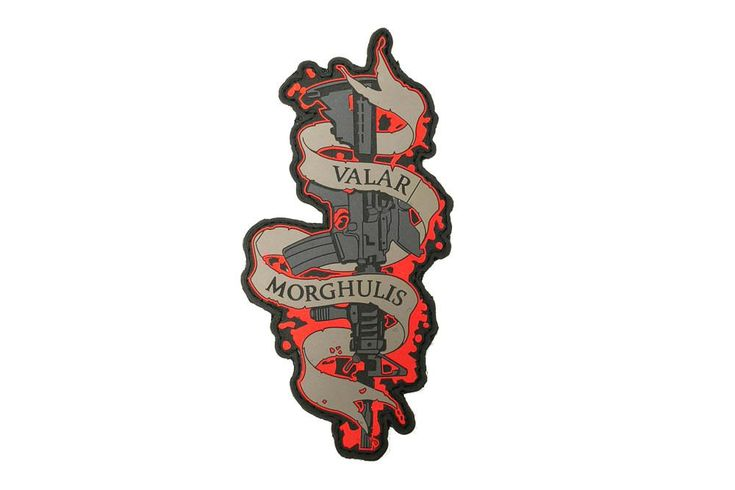 VALAR MORGHULIS means All Men Must Die in High Valyrian. - MadDuoCo