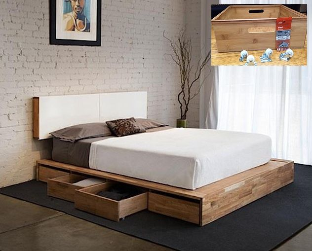 King Size Bed Frame Diy Cheap