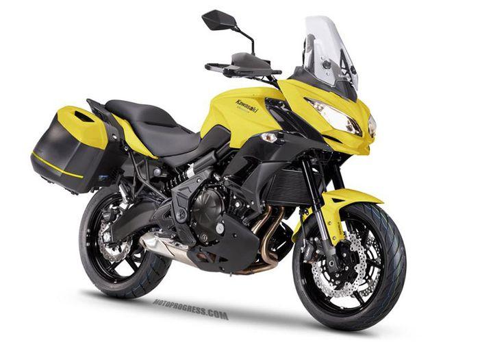 KAWASAKI VERSYS 650 Tourer 2015 http://www.motoprogress.com/