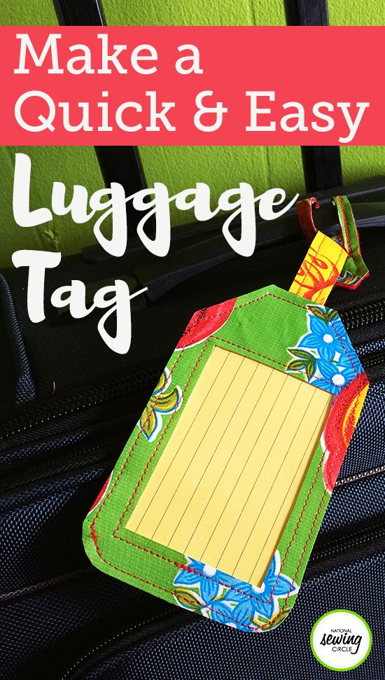 Vacation season is just around the corner, which means it's time to dust off the old suitcases. This season, why not fancy up your bag with a personalized luggage tag?