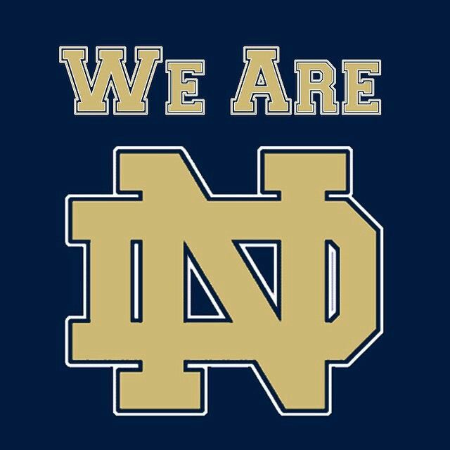 Notre Dame Football, We Are ND, #GoIrish, Notre Dame Fighting Irish