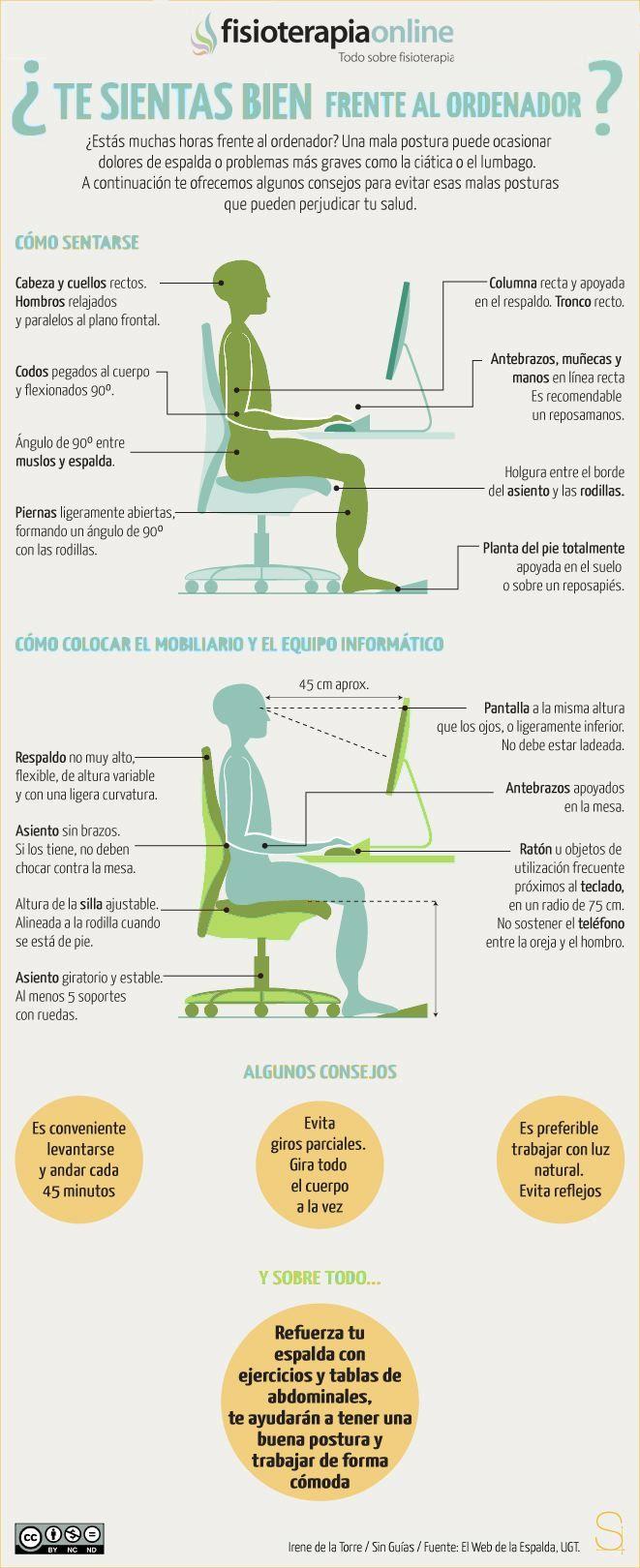 La tortura del oficinista | Fisioterapia Online