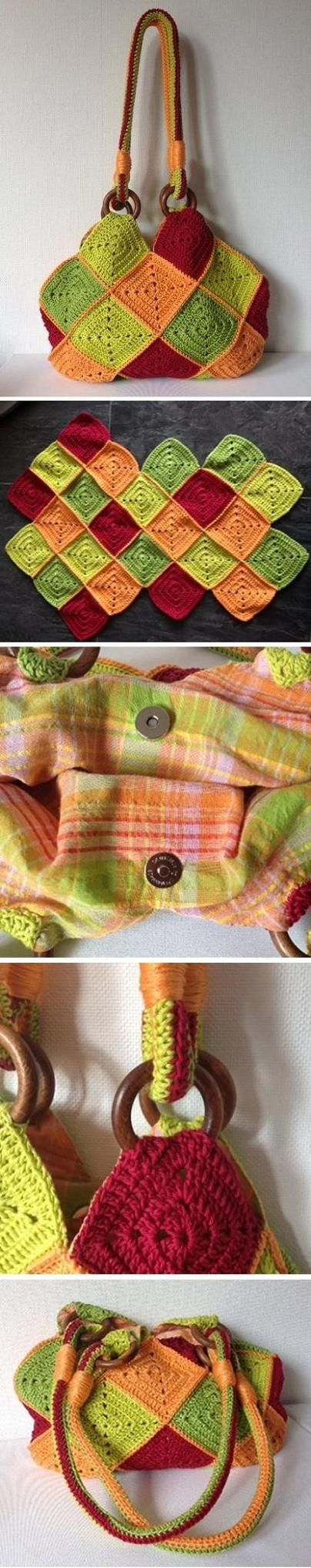 Creative+Crochet+Ideas | Creative Crochet Bag Patterns and Ideas - Life Chilli