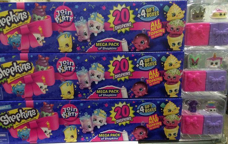Shopkins Season 7 Join The Party Mega Pack ( 3 Kinds )