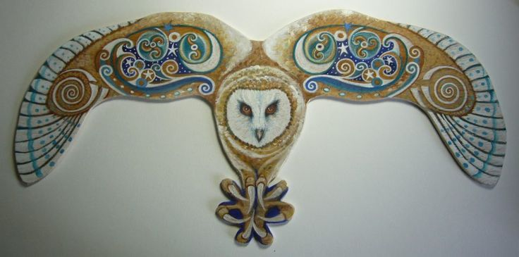 Celtic Owl - Sylvan Hare Arts. The owl is sacred to the Greek goddess of learning, Athena and is even depicted on some Greco-Roman currency as a symbol of status, intelligence and of course, wealth. In ancient Egyptian, Celtic, and Hindu cultures the symbolic meaning of owl revolved around guardianship of the underworlds, and a protection of the dead. In this light the owl was ruler of the night and seer of souls.