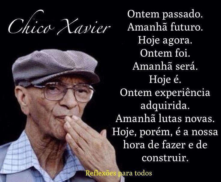 Mensagens De Chico Xavier Para Facebook: 25+ Melhores Ideias De Mensagens Espiritas Chico Xavier No