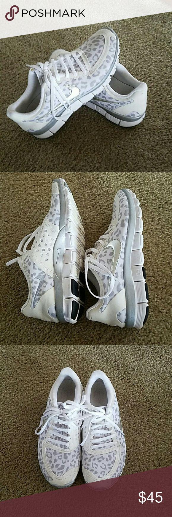 Nike 5.0, women's size 8.5, Leopard Nike 5.0, women's size 8.5, so comfy, so fun! Nike Shoes
