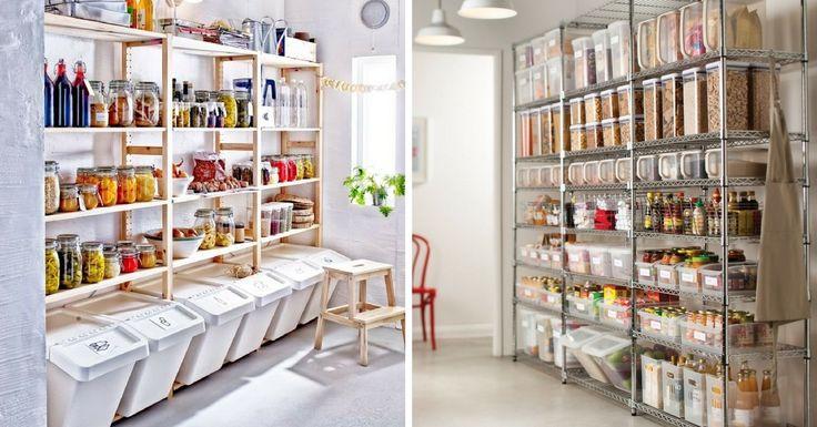 Les 25 meilleures id es de la cat gorie armoire garde manger sur pinterest placard de cuisine - Garde manger fonctionnel cuisine ...