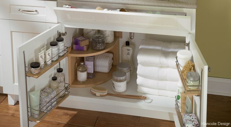 under the sink bathroom storage solution organizing