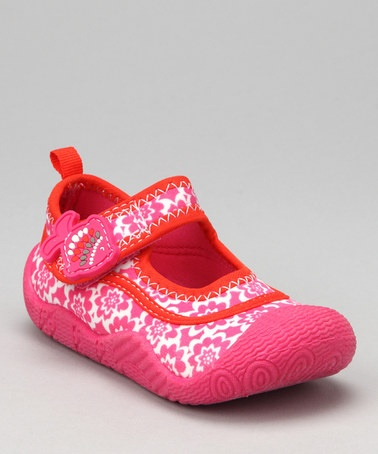 at this Pink & White Lehy Water Shoe by Carter s on #zulily today
