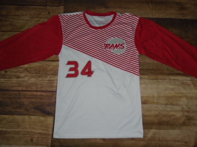 Rams Basketball designed this custom shooting shirt and Universal Athletic Helena created it for the team! Create your own custom uniforms at www.garbathletics.com!