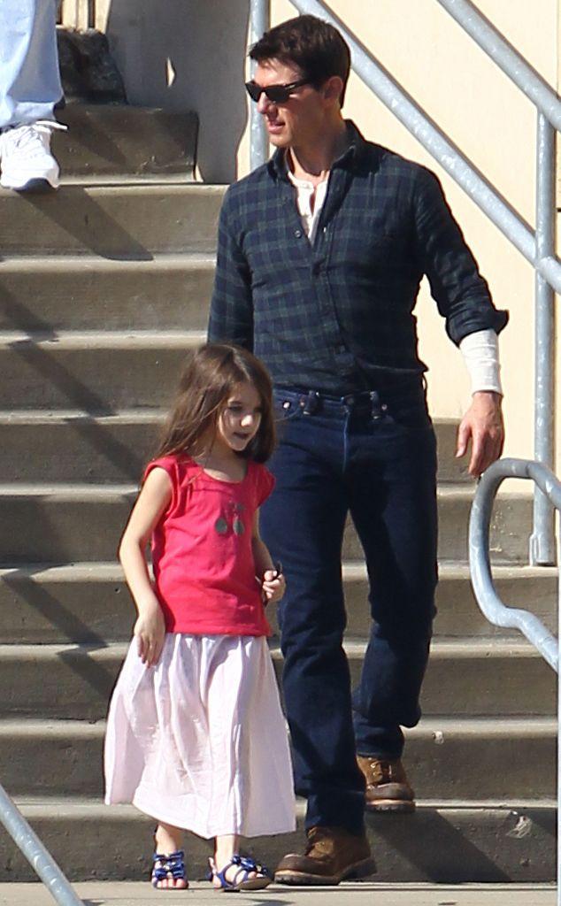 Tom Cruise and Suri