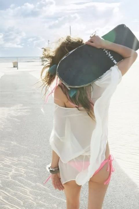 Love the sheer cover-up.