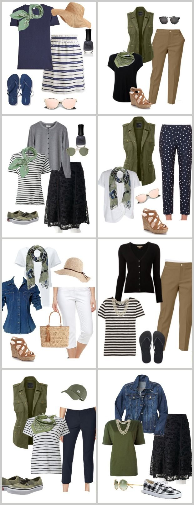 Summer Fashion Over 40 Fashion Casual Summer Outfits
