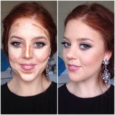 contour for pale redhead - Google Search