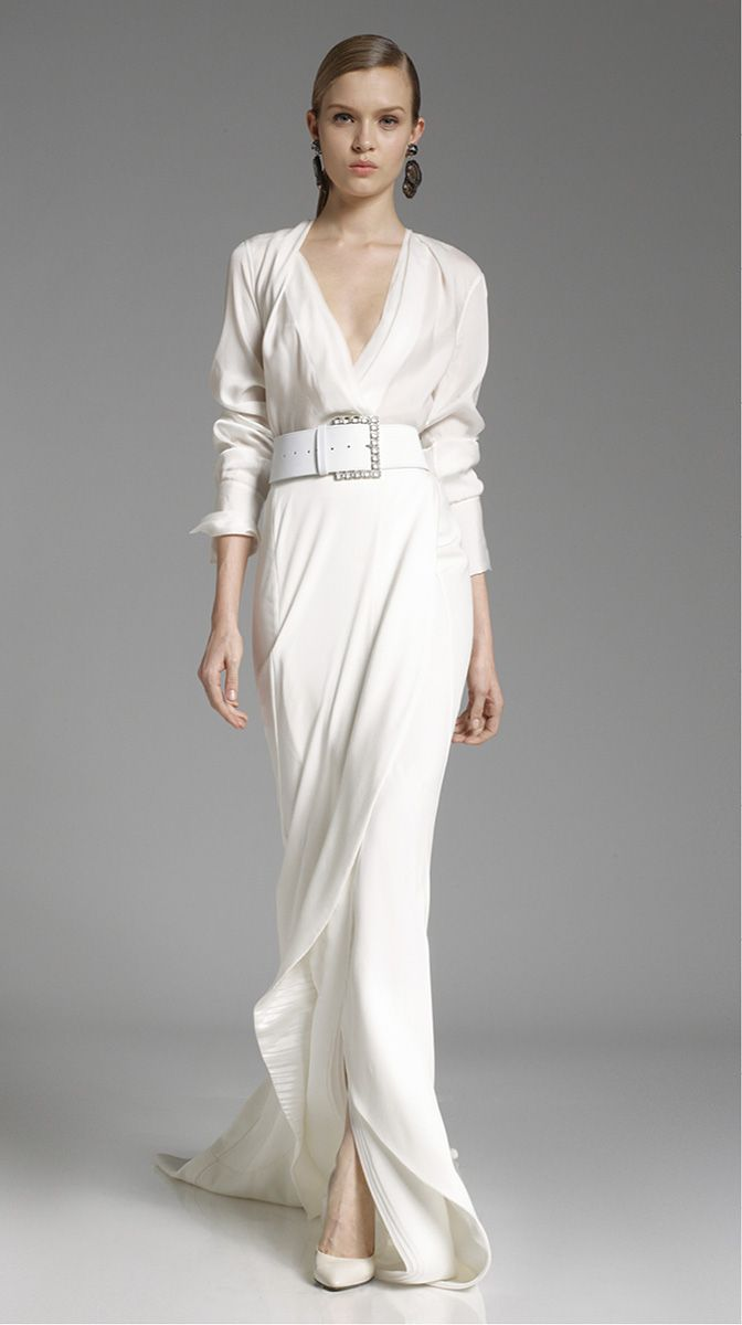 Donna karan pre fall 2012 runway and dresses and gowns for Donna karan wedding dresses