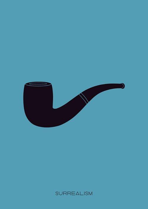 """giragirafa: """"Pôsters minimalistas dos principais movimentos de arte"""""""