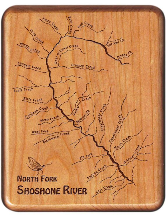 301 best Fly Fishing  River Map Fly Boxes  Custom Fly Box images