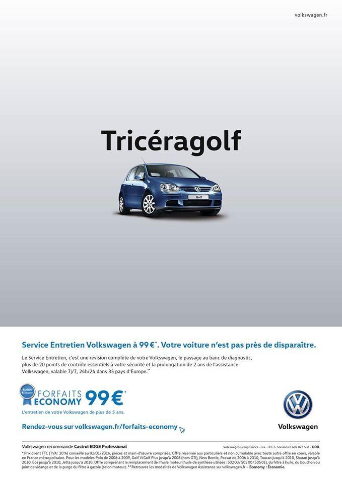 #VW Tricéragolf #jetudielacom