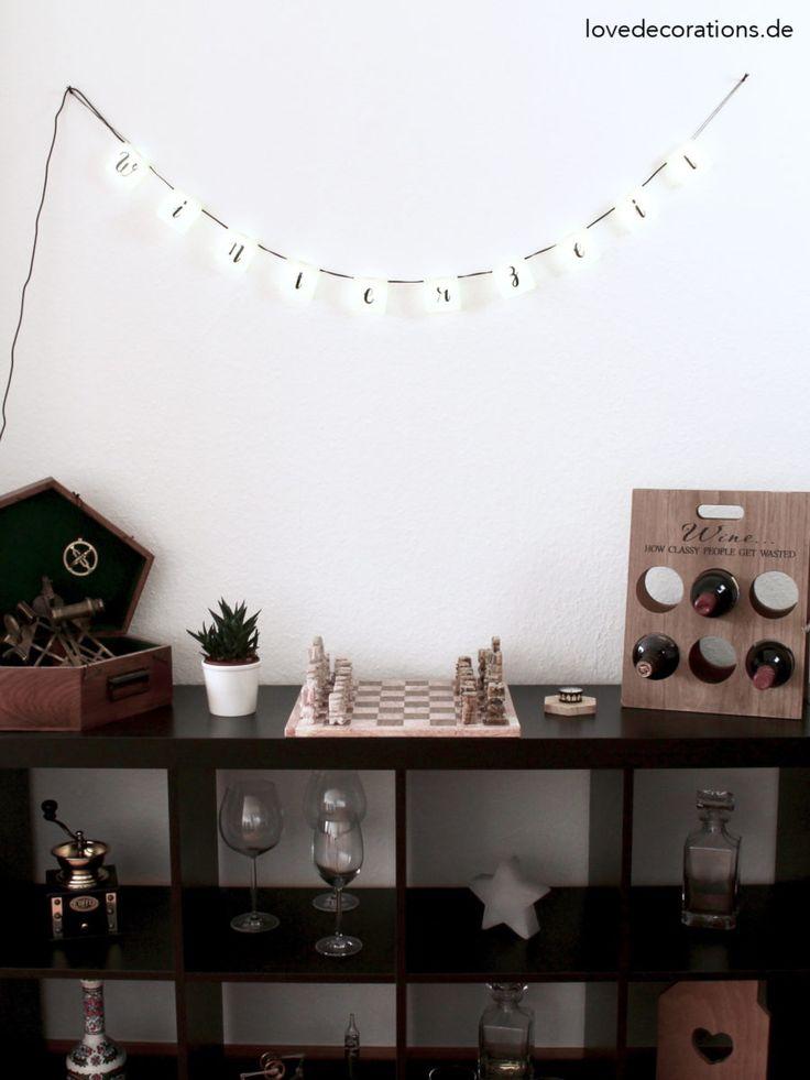 DIY Lichterkette Mit Handlettering Mit RADBAG* + Give Away