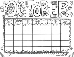 Enjoy some Calendar Coloring pages.  These are great for students to keep track of homework and different assignments.  They can also be used on bulletin boards and more.  Enjoy!