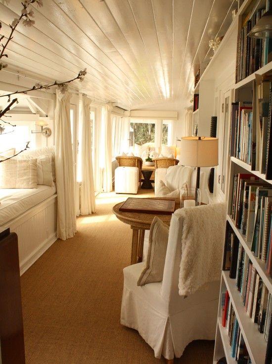 built in bunks, hidden bunks, creative guest spaces, grown up bunk beds