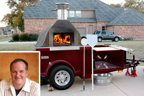 bread oven mobile | My Pizza Oven: Jay Jerrier and His Mobile Pizza Oven | Slice Pizza ...