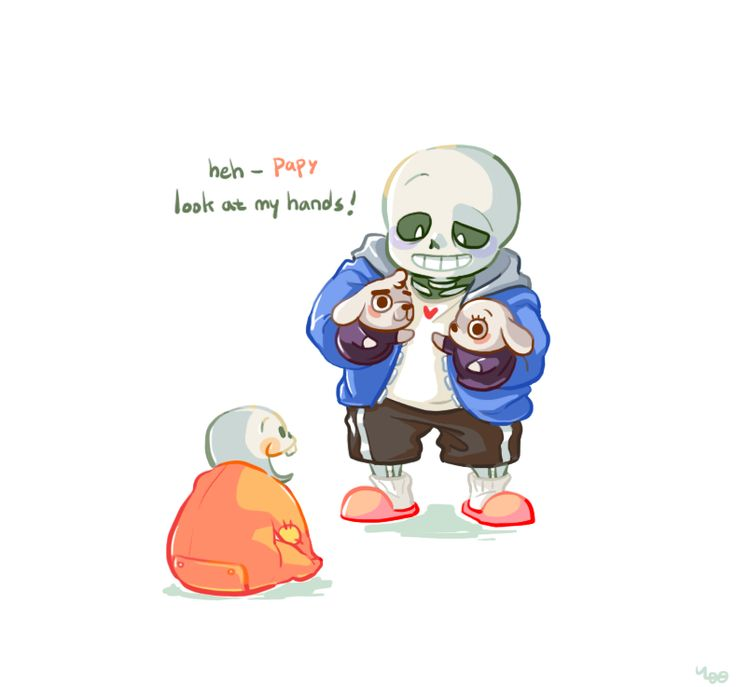 This Is Frickin Adorable Skelebros