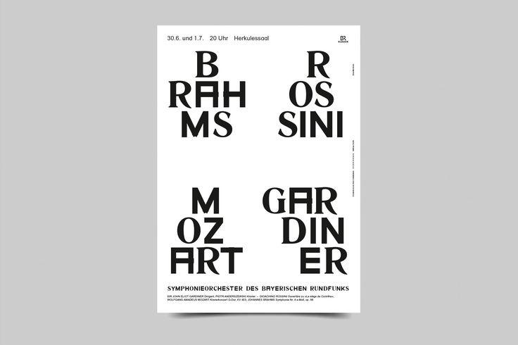 BB — Season Posters Symphonieorchester des Bayerischen Rundfunks