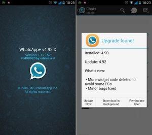 Descargar WhatsApp Plus para Sony Xperia no es imposible