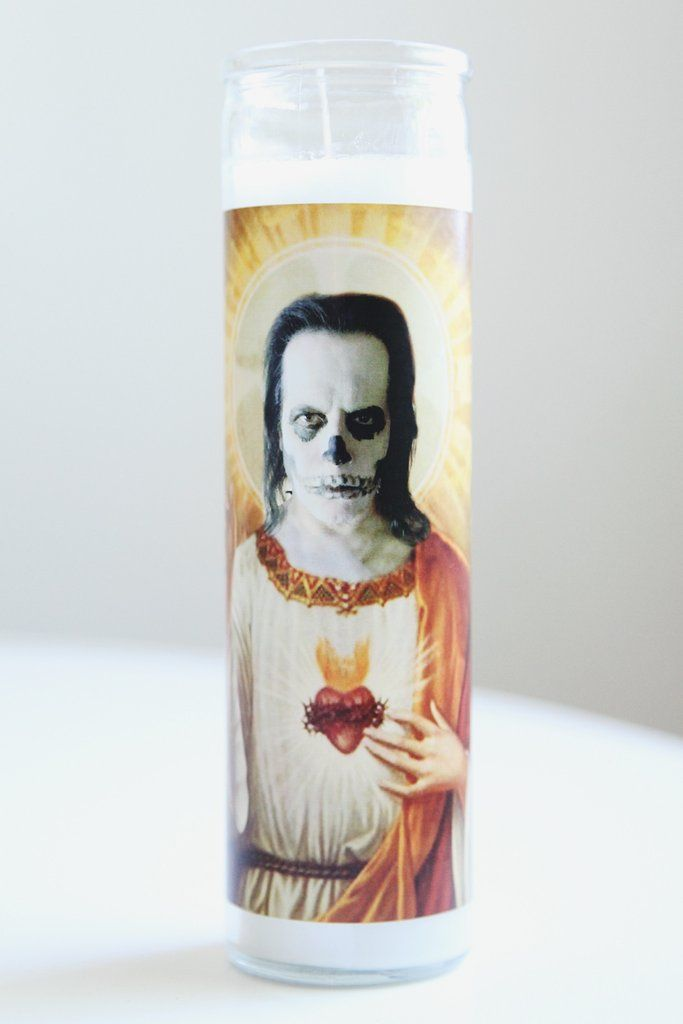 Danzig Celebrity Saint Candle by Illuminidol - #danzig #misfits #samhain