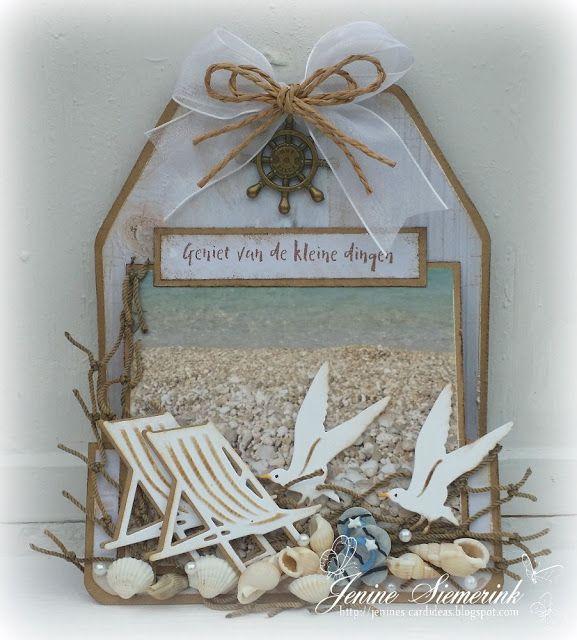 Jenine's Card Ideas: Geniet van de kleine dingen