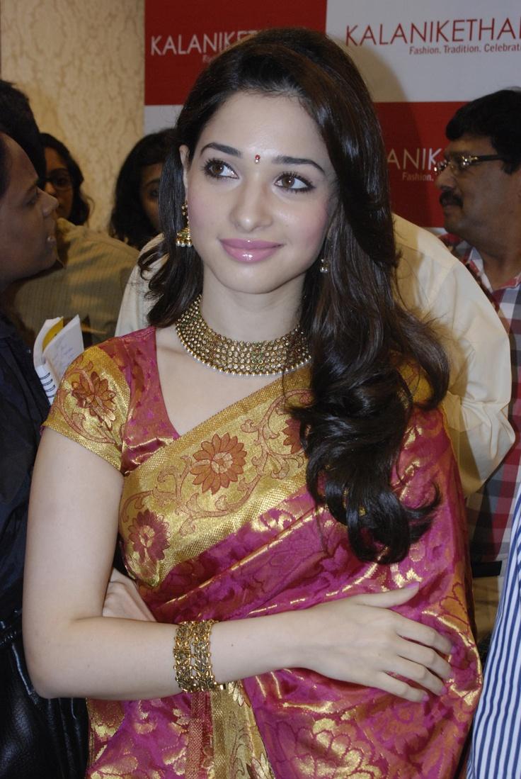 Telugu Actress Tamanna inaugurates Kalanikethan Showroom at Anna Nagar 2nd Avenue, near Roundtana.