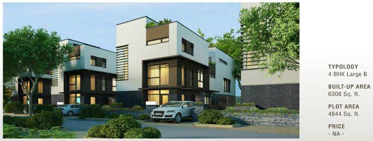 Tata Arabella Residential Villas on Sohna Road Gurgaon   Project Details:   Topology 4  BHK Large B Built - UP Area 6306 Sq. Ft. Plot Area 4844 Sq. Ft.  http://www.pinterest.com/hcorealestates/tata-arabella/