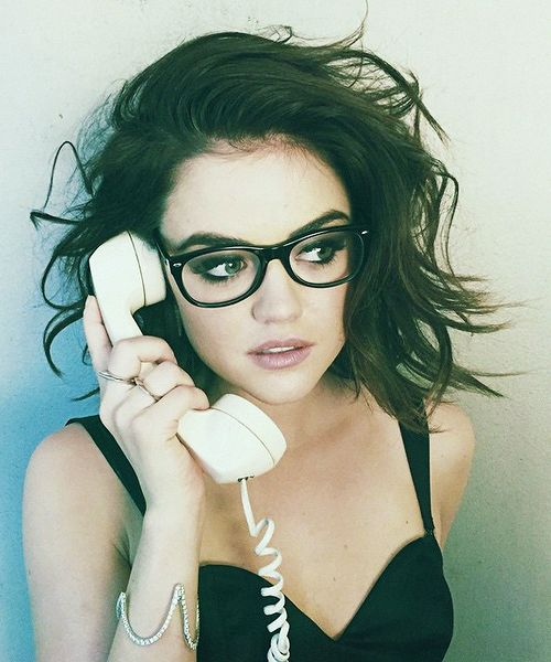 Lucy Hale ♡ her hair! Perfecto!
