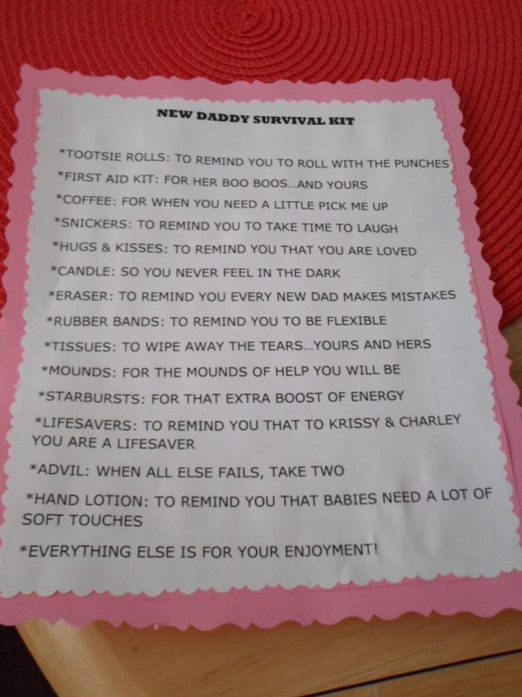 New Dad Hospital Survival Kit-List of Items to Include