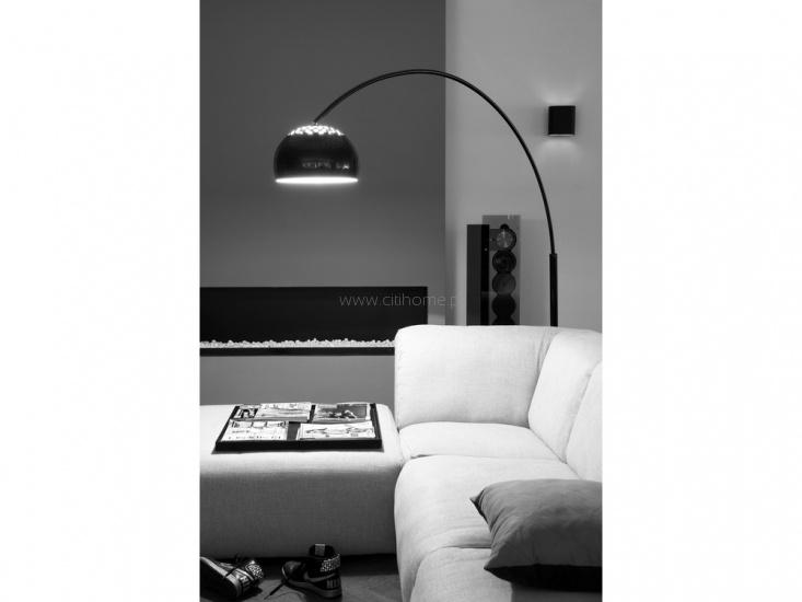 Lampa podłogowa LEITMOTIV Longbow czarna  http://www.citihome.pl/lampa-podlogowa-leitmotiv-longbow-czarna.html