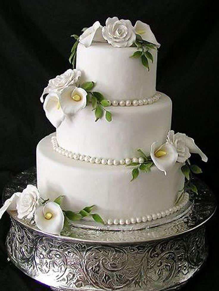 25 Best Silver Round Wedding Cakes Ideas On Pinterest Round Wedding Cakes