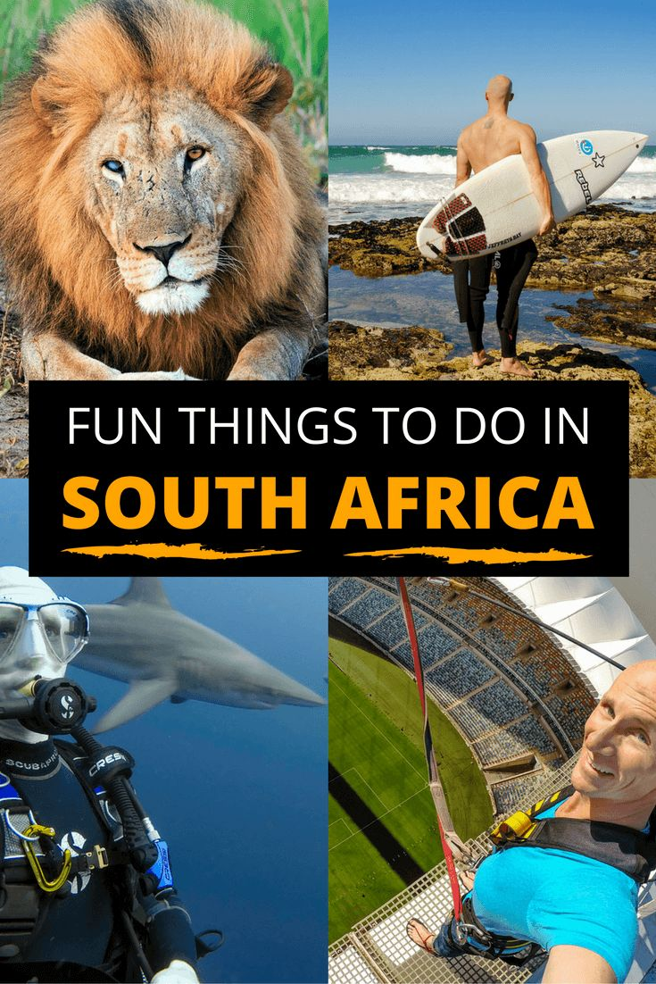 I've traveled to South Africa twice now. It's one of my favorite countries and an adventure lover's playground. Here are some great ideas for things to do there.