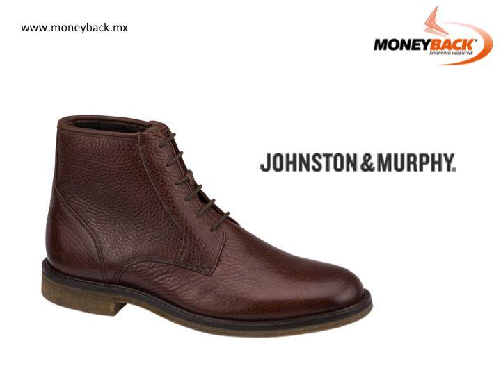 Johnston & Murphy fabrica calzado de gran calidad y tiene tiendas en los centros comerciales Antara, Plaza Carso y Plaza Loreto en la Ciudad de México y La Isla en Cancún. Moneyback te da un reembolso de impuestos por tus compras en Johnston & Murphy si eres turista extranjero viajando en México. #Johnston&Murphy