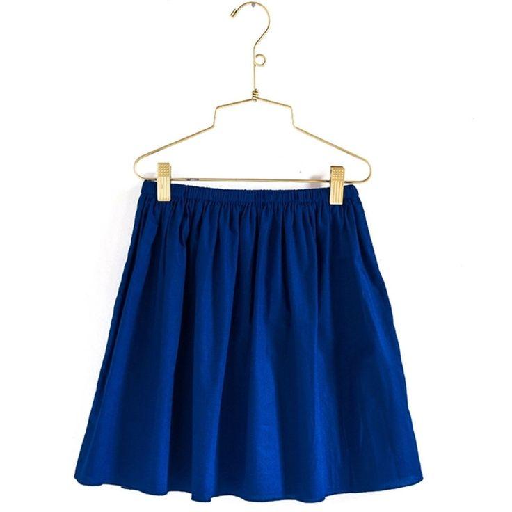 Pretty Wild Daisy Skirt- Navy